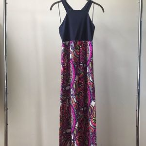 Alice and Trixie Colorful Maxi Dress